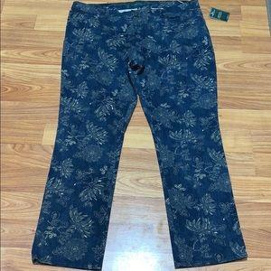 Lauren Ralph Lauren Modern Straight Jeans Size:16